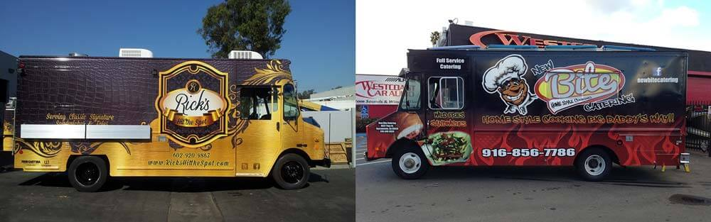 Food truck wraps i food truck graphics for Food truck design software